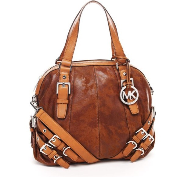 Michael Kors Handbags - Michael Kors Milo Satchel Handbag